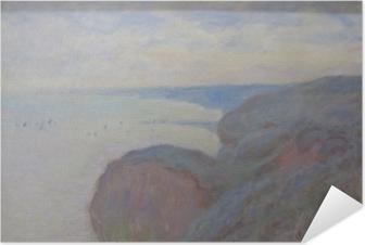 Póster Autoadhesivo Claude Monet - Steef Acantilados cerca de Dieppe