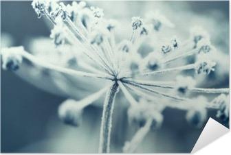Póster Autoadhesivo Flor