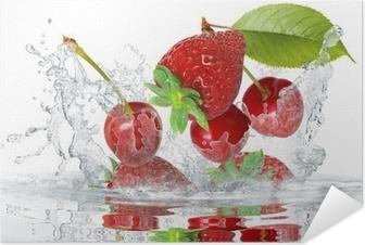Póster Autoadhesivo Frutas 419