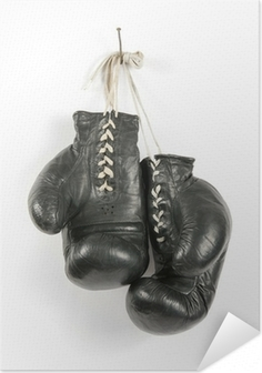 Póster Autoadhesivo Guantes de boxeo