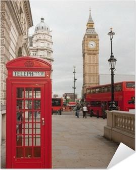 Póster Autoadhesivo Londres Inglaterra