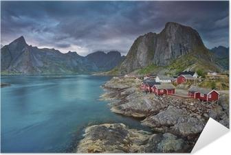 Póster Autoadhesivo Noruega