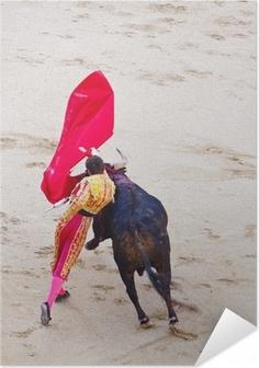 Póster Autoadhesivo Tradicional corrida - corridas de toros en España