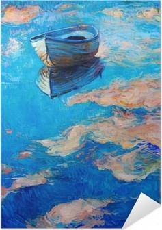 Poster autocollant Bateau en mer