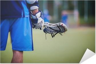 Poster autocollant Lacrosse