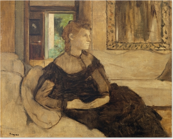 Poster autocollant Madame Théodore Gobillard - Impressionnisme
