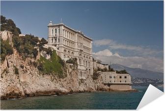 Poster autocollant Ous Aquarium Musée Océanographique de Monaco (Monte Carlo)