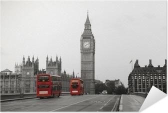Poster autocollant Palais de Westminster