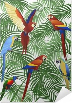 Poster autocollant Parrot bird