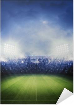 Poster autocollant Stade