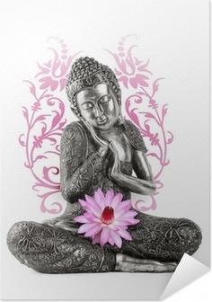 Poster autocollant Statue de Bouddha