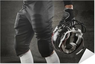 Poster autocollant Uniforme de football américain
