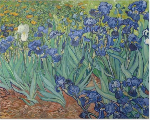Poster autocollant Vincent van Gogh - Iris - Reproductions