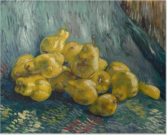 Poster autocollant Vincent van Gogh - Nature morte avec coings - Reproductions