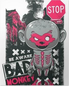 Poster Bad Monkey