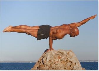 balance strong man Poster