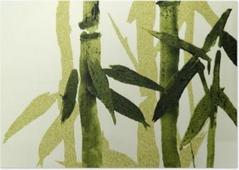 Bamboo / Texture Poster