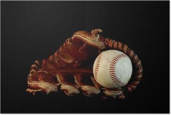 Poster Baseball pure