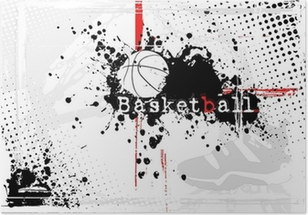 basketball background Poster