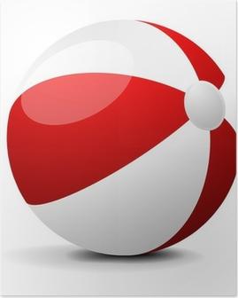 Póster Beach ball