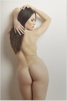 beautiful adult sensuality naked woman Poster