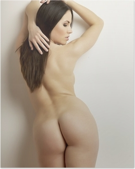 beautiful adult sensuality naked woman Poster