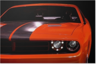 Poster Begrip muscle car