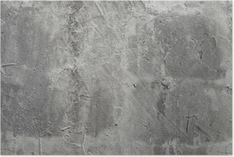 beton wall Poster