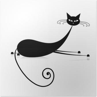 de zwarte Pussy Cat