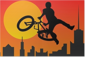Poster Bicyclist