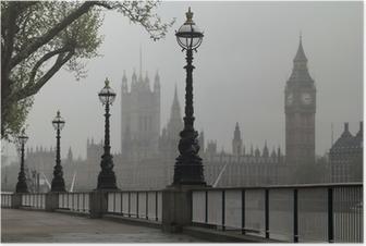 Poster Big Ben et Houses of Parliament