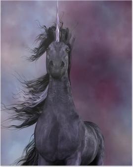 Black Unicorn Poster