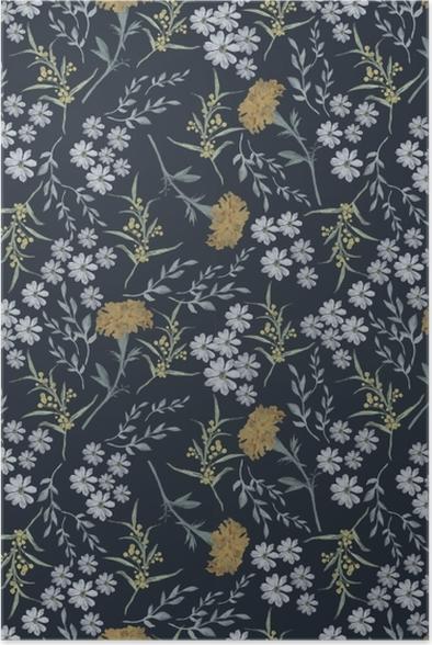 Poster Bloemen van september - Nina Ho - Hedendaagse kunstenaars