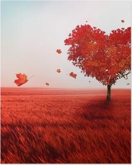 Poster Boom van de liefde