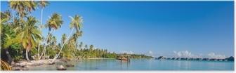 Poster Bora Bora panorama