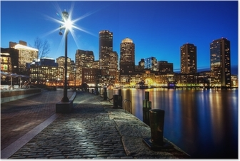 Boston city FP543 Poster