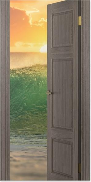 Poster Brown Porte - Surf - Planches de surf