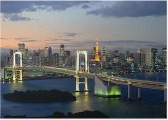 Bucht von Tokyo Poster