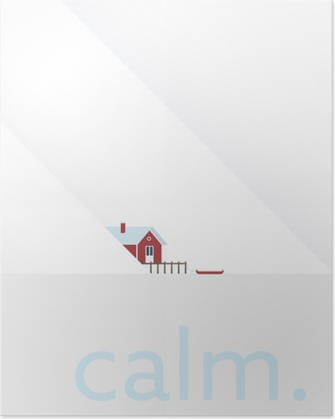 Calm. Poster - Motivations