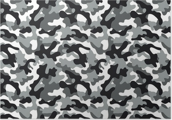 Poster Camouflage Seamless