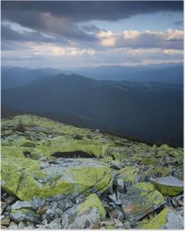 Poster Carpathian berglandschap