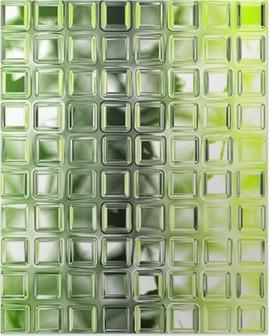 Poster Carreaux de verre vert Seamless texture de fond, la cuisine ou bathro