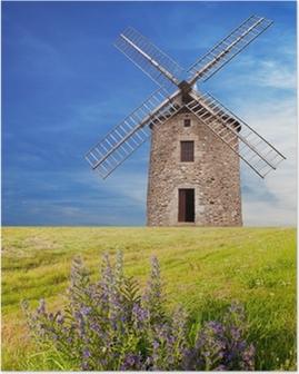 Poster Ce vieux moulin a vento