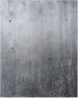 cement wall texture, rough concrete background Poster
