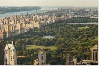 Poster Central Park, New York City