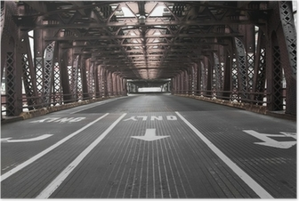 Póster Chicago Bridge