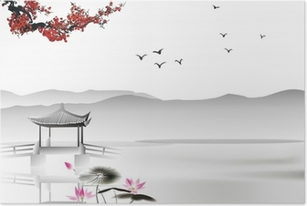 Chinese painting Poster