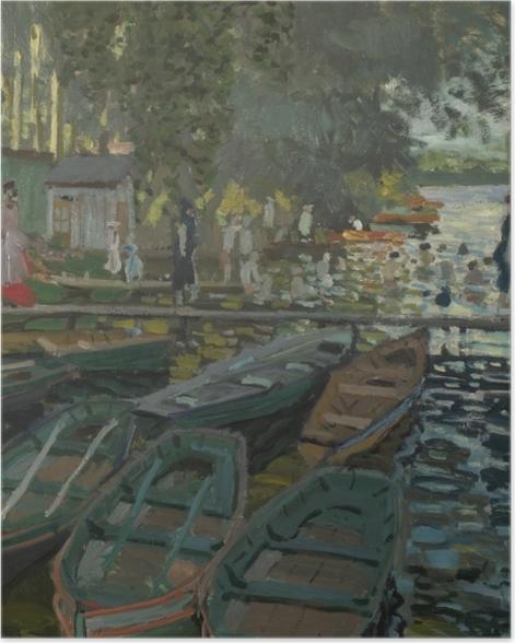 Poster Claude Monet - Baigneurs à la Grenouillère - Reproductions