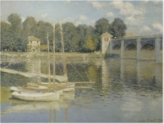 Claude Monet - Bridge at Argenteuil Poster