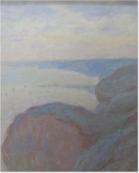 Poster Claude Monet - Falaises près de Dieppe - Reproductions
